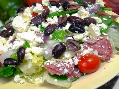 009 GREEK SALAD